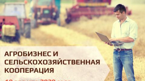 Вебинар «Агробизнес на сельских территориях»